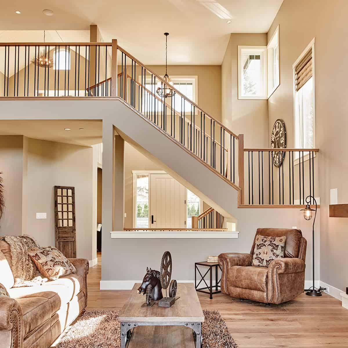 custom home Toronto inside living room